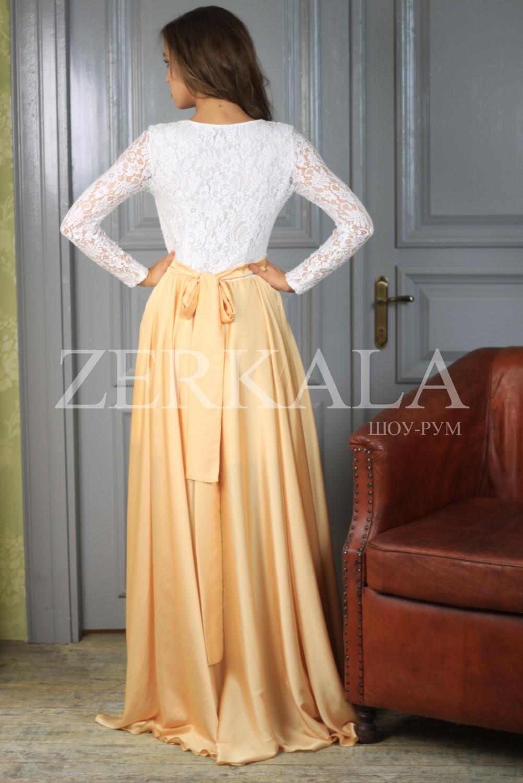 Купить Длинное Вечернее Платье С Рукавом