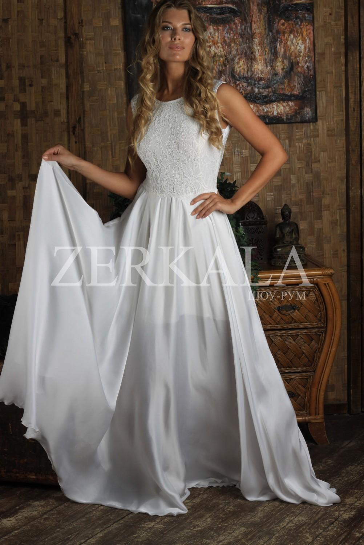 Белое Вечернее Платье Купить В Москве Недорого