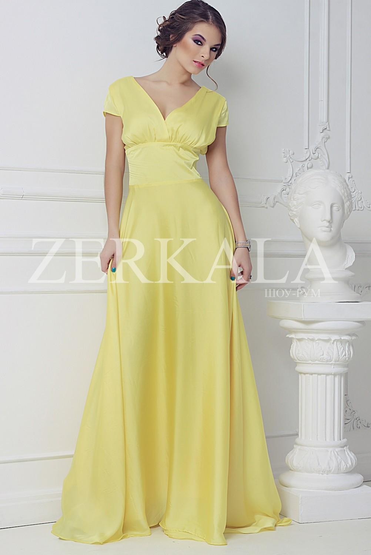 Длинные вечерние платья фото атлас
