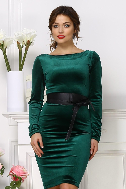 короткое бархатное платье купить