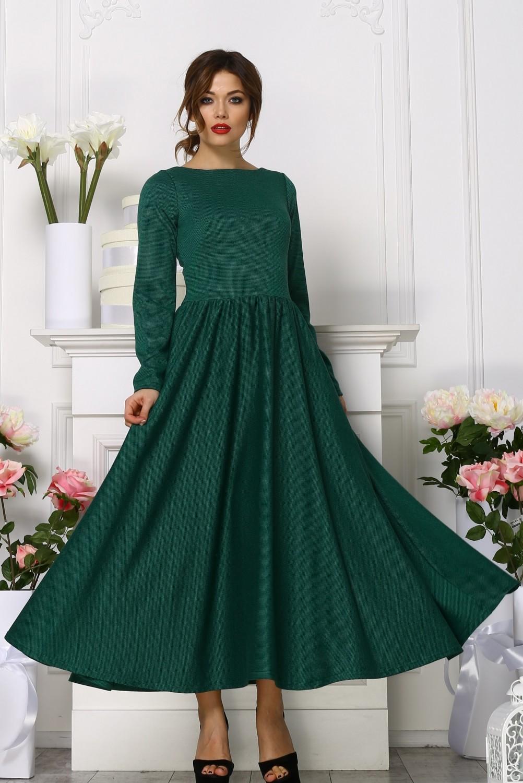 Москва купить платье миди с пышной юбкой