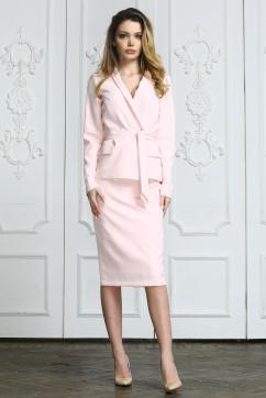 Розовый розовый с юбкой
