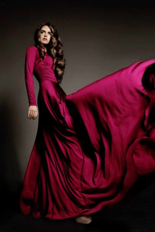 Купит Красное Платье В Пол