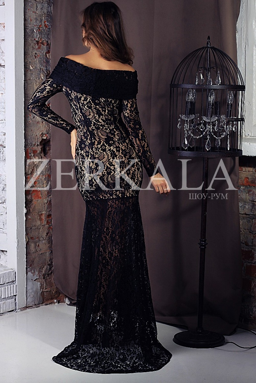 Черное кружевное платье фото обзор коллекций 2018 мировых брендов