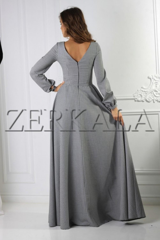 Платье Зимнее В Пол Купить