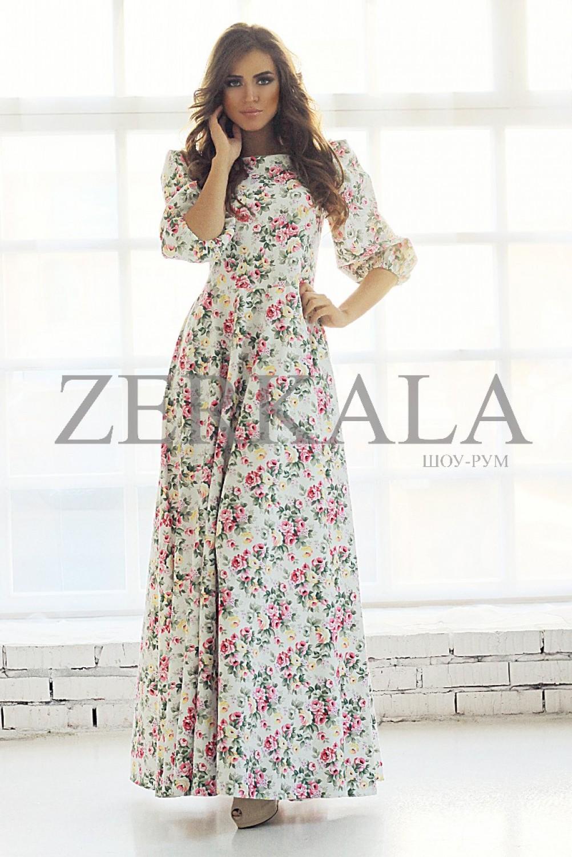 Платье длинное в пол купить в москве