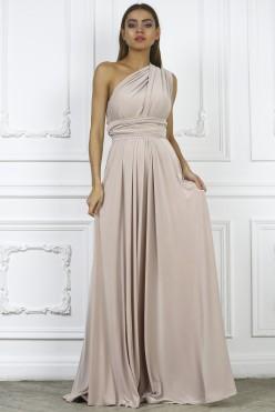 Платье трансформер, цвет бежевый