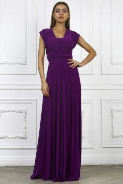 Платье трансформер, цвет фиолетовый