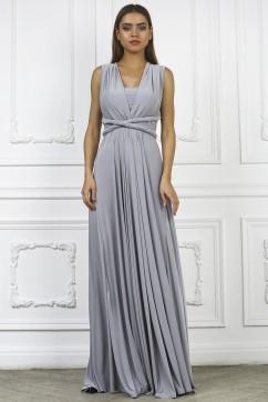 Платье трансформер, цвет серый