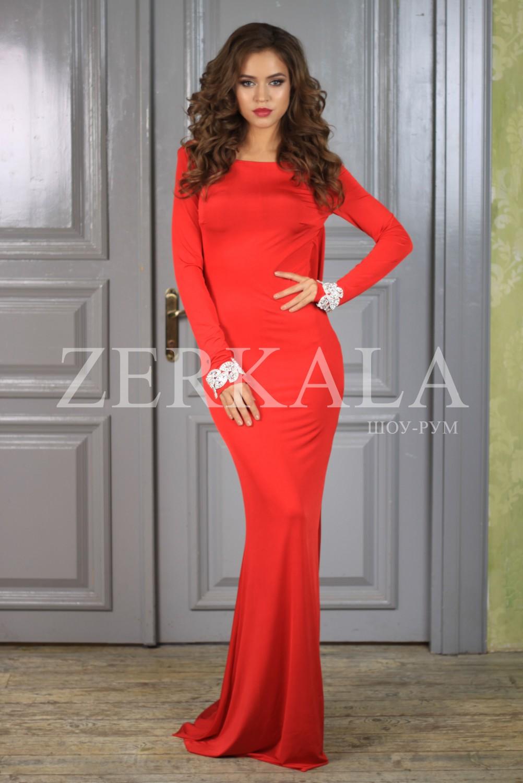 d919054e33b7e19 Вечернее красное платье с открытой спиной Вечернее красное платье с открытой  спиной ...