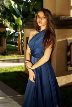 Платье трансформер, цвет темно синий