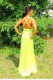 Платье трансформер, цвет желтый