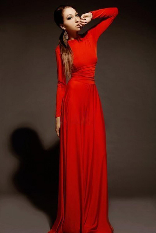 Вечернее Красное Длинное Платье Купить
